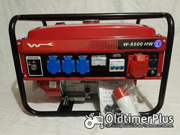"Würzburg Germany Professional Generator ""220V/380V "" W-8500 OVP Foto 1"