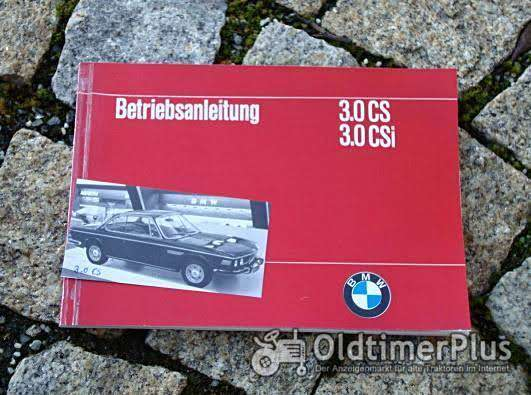 Betriebsanleitung BMW 3.0 CS / CSi 1973 E9 Coupé Foto 1