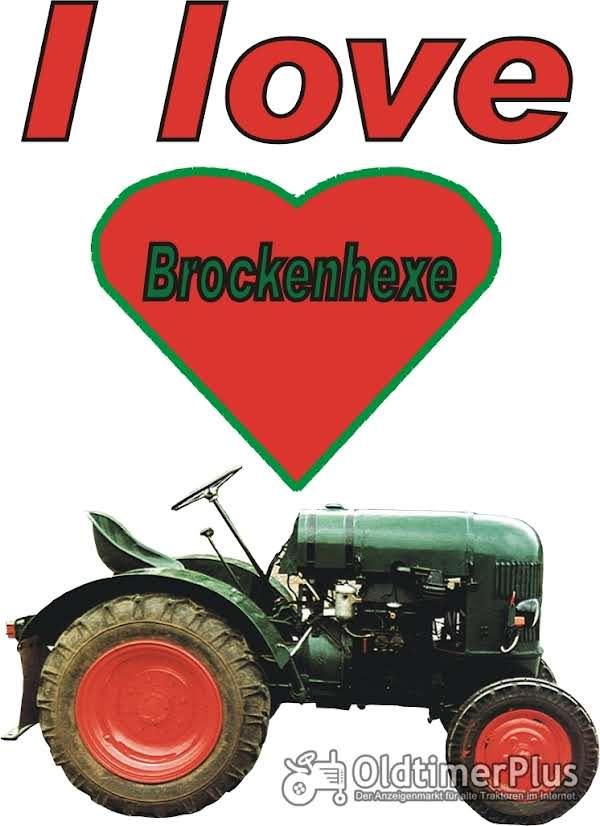 I love Brockenhexe T-Shirt Foto 1