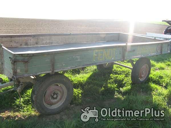 Fendt Brückenwagen Foto 1