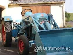 Eicher Smalspur Weinberg traktor Foto 5
