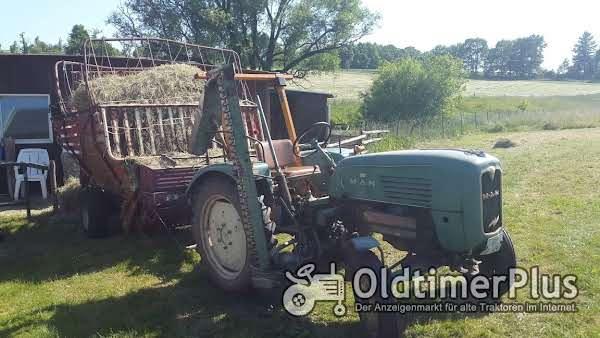 MAN 2F1 Traktor Foto 1