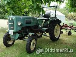 MAN -Schlepper Traktor 25 PS Sehr guter Originalzustand mit passendem Anhänger Foto 2