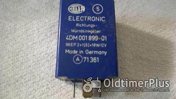 Hella 4DM 001 899-01 BLINKGEBER 96EP 2+1 x 18W - 12V Foto 1