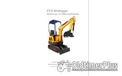 AgrimeXX HT12 Minibagger, 1 to, Knickmatik, Löffelpaket uvm. Foto 2