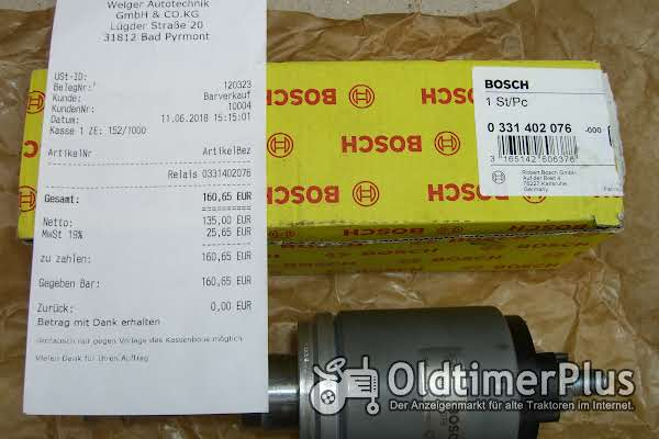 Bosch Magnetschalter 0 331 402 076 Foto 1