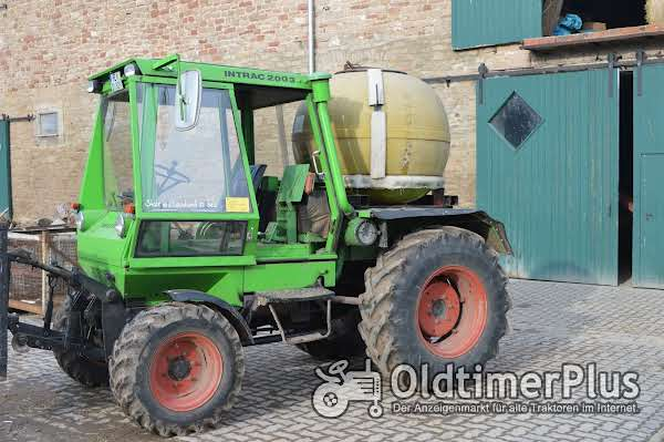 Deutz Intrac 2003 Foto 1
