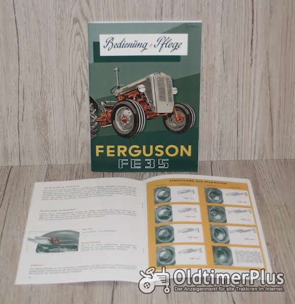 Massey Ferguson Bedienungsanleitung Traktor 4 Zylinder FE35 ab Bj. 56 Foto 1