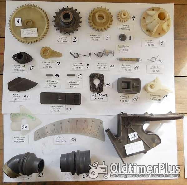 Isaria Sämaschine, Ersatzteile, Ersatztelliste, Saattabelle, Foto 1