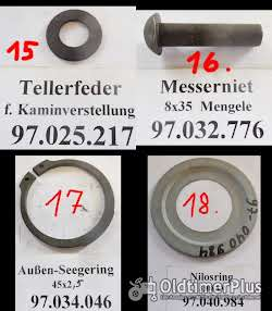 Mengele Maishäcksler, Ersatzteile, MB2, MB3, MB280, MB350, usw. Foto 8