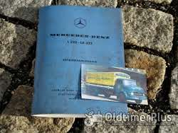 Literatur Betriebsanleitung Mercedes L LA 322 1960 Kurzhauber