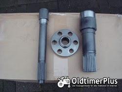 Fendt Favorit 512 - 515c, lsa Turbokupplung, Hohlwelle, Kupplungswelle, Kupplungsflansch,  Foto 3