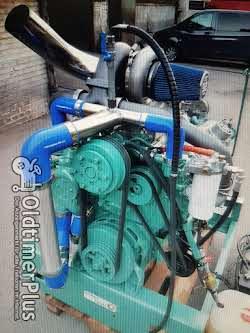 Detroit Diesel 2Takt Turbo Kompressor 8V92 TA 600hp Detroit Diesel Motor top! Boot US Truck pulling Foto 4