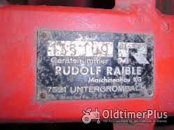 "Gutbrod /Raible Anbau-Kehrmaschine  ""r2d2"" Foto 3"