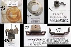Bosch, Lukas Anlasser, Strarter, Lichtmaschine, Generator, Anker, Ritzel, Ersatzteile Foto 4