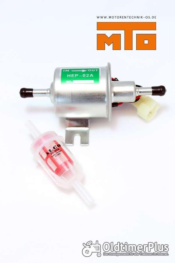 Kraftstoffförderpumpe Universal 12 Volt inkl. Filter Universal Kraftstoffförderpumpe, HEP-02A, 12 Volt, inkl. Filter Foto 1