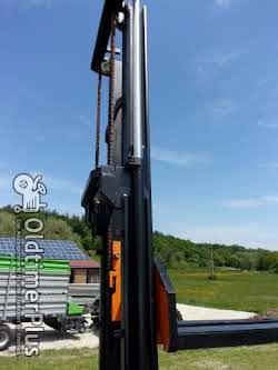 Jungheinrich Hubmast für Traktoranbau, Heckstapler, Anbaustapler, Staplerhubmast Foto 10