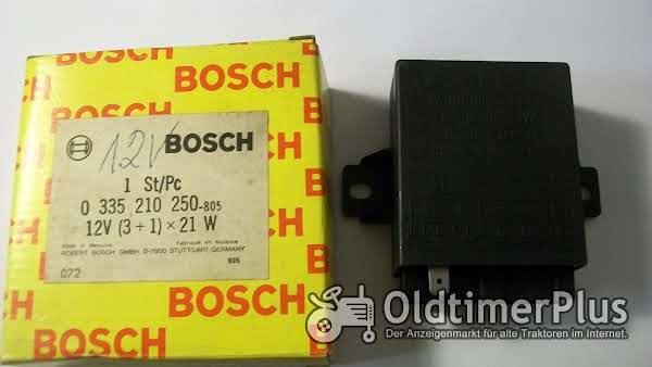 Bosch   0335210250 Warnblinkgeber 12 Volt neu Foto 1