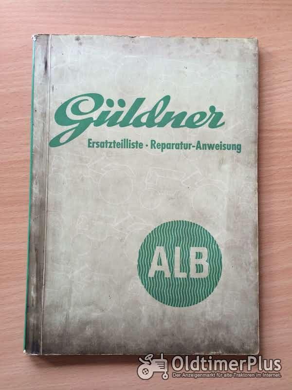 Güldner ALB Ersatzteilliste und Reparatur-Anweisung Foto 1