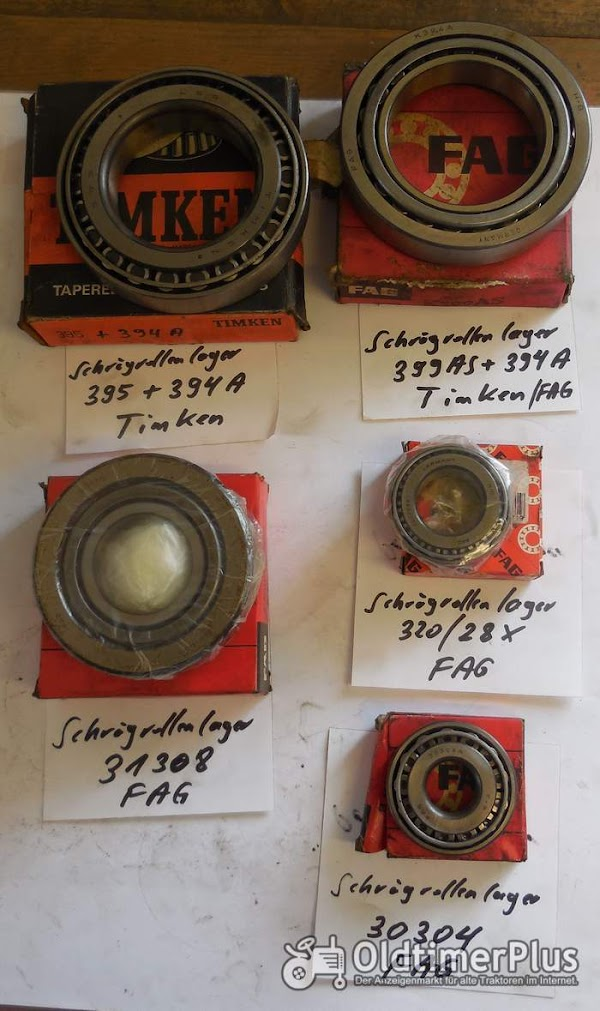 FAG, Timken, Kegelrollenlager, 30304, 31308, 320/28X,  399AS + 394A Foto 1