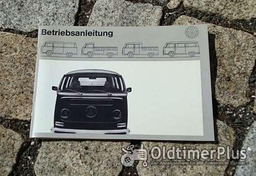 Betriebsanleitung VW Transporter Bus 1970 T2 50 PS Foto 1