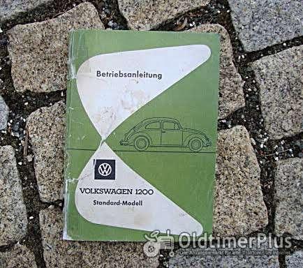 Betriebsanleitung VW 1200 Käfer Standard 1962 Foto 1