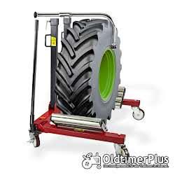 Rad Montagehilfe | Raddruchmesser max 2 meter Pkw, Lkw, Traktor NEU Foto 5
