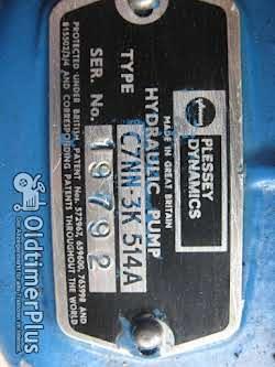 Ford Hydraulikpumpe für Hilfslenkung wenige Betriebsstunden gebraucht Foto 2