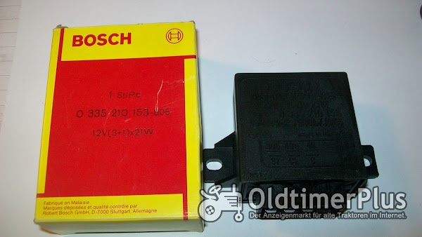 Bosch 0335210153 Blinkgeber 12V (3+1)mal 21 W Mercedes-Benz Volvo Foto 1
