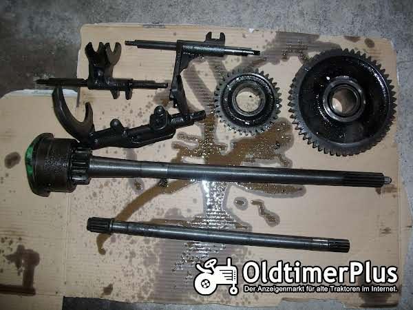 Deutz D 40 L Getriebeteile vom Deutz D 40 L Foto 1