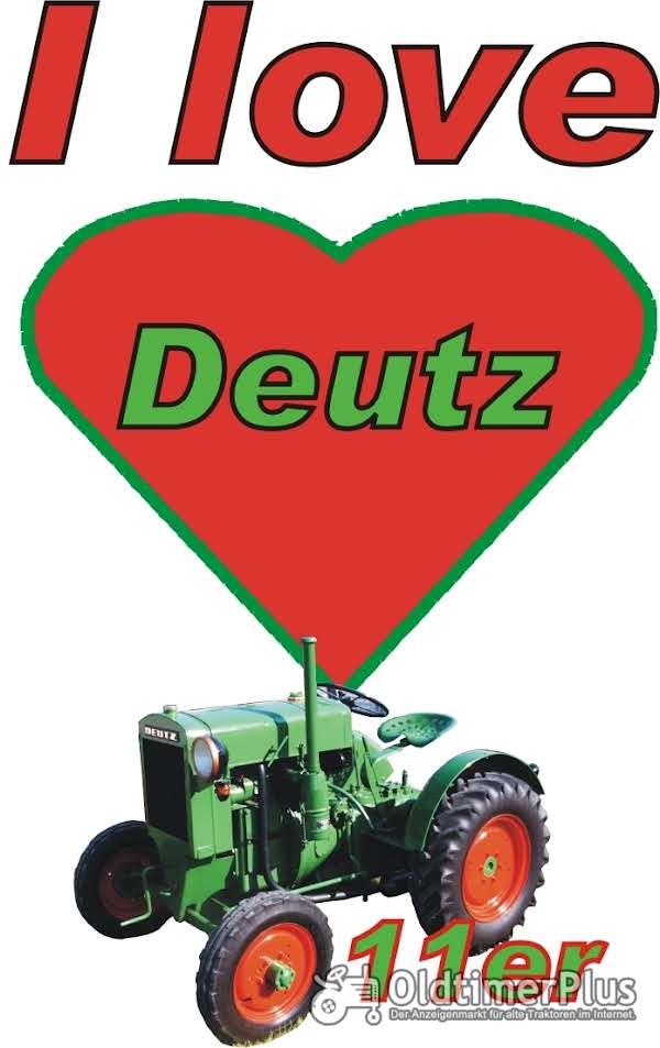 I love Deutz 11er T-Shirt Foto 1