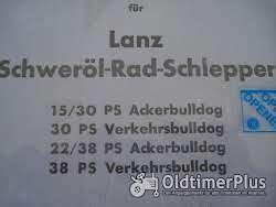 LANZ 15/30- 22/28 ersatzteilliste und Betriebsanleitung Foto 2