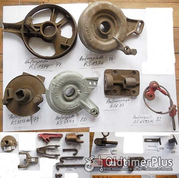 Rasspe Mähwerk, Fingerbalkenmähwerk, Ersatzteile, Sortiment B Foto 1