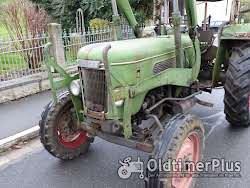 Fendt Farmer 3 S mit Verdeck Frontlader Schnellgang in Original Patina photo 4