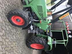 Fendt Farmer 104S Turbomatik Frontlader Foto 4