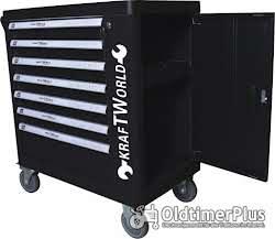 Werkzeug XL Werkzeugwagen LEER mit 7 Schubladen auf Rollen Neuware OVP