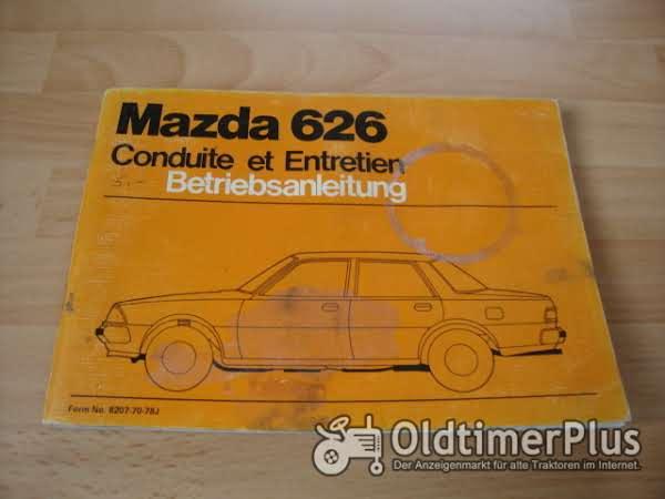 orig. Betriebsanleitung Mazda 626 1978 Foto 1