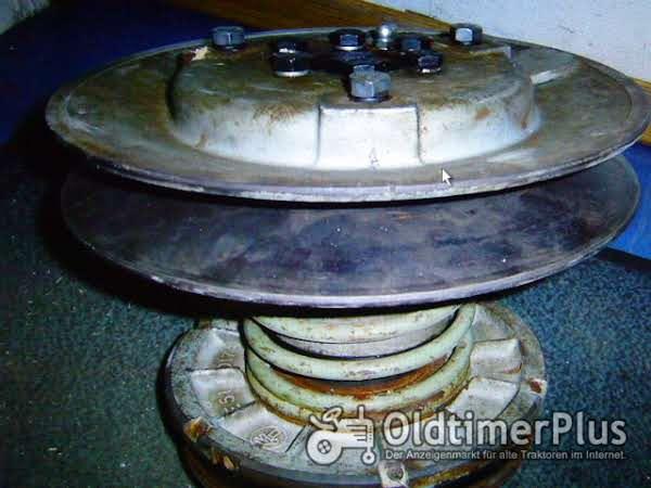 Claas Columbus Fahrantrieb Regelscheibe u. Schiebescheibe kpl. 751027 gebraucht Foto 1
