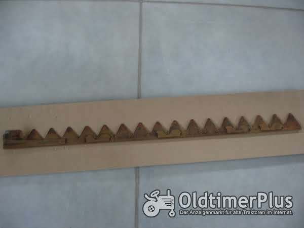 Fahr Mähmaschine FZP3 Messer für Mähwerk Foto 1