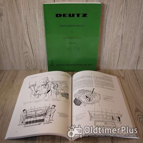 Werkstatthandbuch Deutz Motor F/A 1 - 6L 514 / F/A 6 - 12L 614 Foto 1