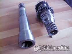 Fendt Farmer Favorit Xylon Turbokupplung, Hohlwelle, Antriebswelle, Getriebewelle Foto 7