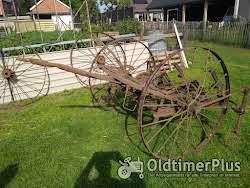Antieke Vork hooi schudder Foto 3