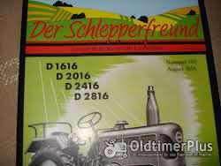 Literatur Zeitschrift Der Schlepperfreund,