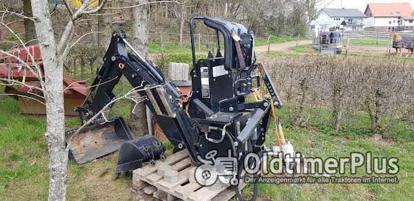 Bagger für Traktor Foto 1