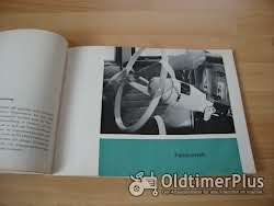 orig. Betriebsanleitung DKW AU 1000 1961 Foto 6