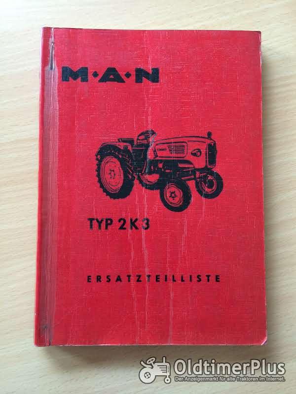 MAN 2K3 Ersatzteilliste Foto 1
