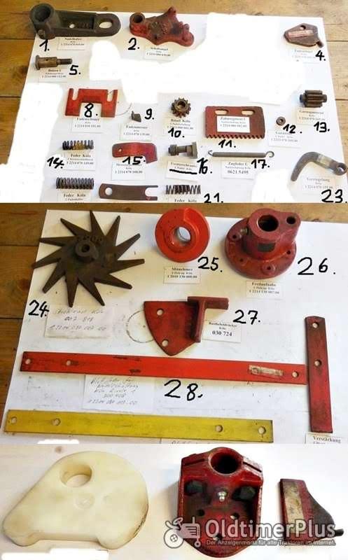 Köla, Ködel & Böhm, Welger, Presse, Strohpresse, Niederdruckpresse, Hochdruckpresse, Heupresse, Ersatzteile Foto 1