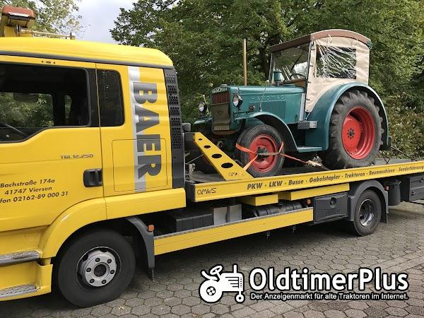 Landmaschinentransporte Treckertransporte Bulldogtransporte,TransBaer-Viersen Foto 1