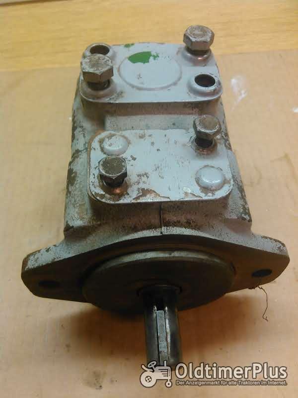 Hydraulikpumpe Ölmotor Foto 1