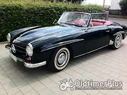 Mercedes-Benz 190 SL PAGODE 1960 Leder Rot
